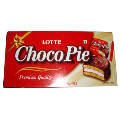 how to make lotte choco pie at home